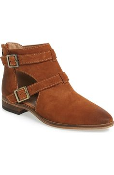 Loving these sleek booties with ankle straps. They will pair perfectly with jeans and a sweater on cooler days.