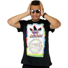 Adidas T-Shirt Test Pattern black ★★★★★