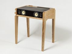 PC COFFEE TABLE WITH BUILT-IN SPEAKERS LD 130 PIXEL | LA BOITE CONCEPT