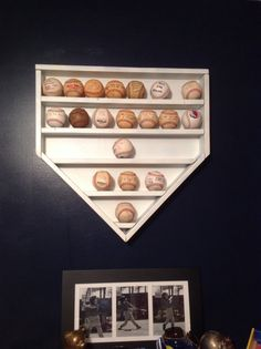 Home plate shelf