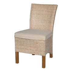 Handcrafted wood and rattan side chair.Product: Chair    Construction Material: Wood and rattan    Co...495.00