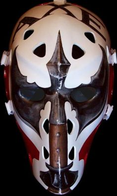 gary smith axe mask tom connauton vintage goalie masks