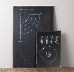 Industrial Rivet Chalkboard | Display | Restoration Hardware Baby & Child