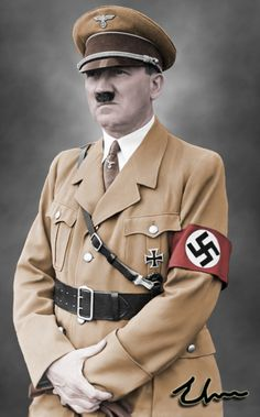 "Adolf Hitler 56. (1889 - 1945) Nickname: ''Herr Wolf"".  Death: Suicide by Gunshot & Cyanide."