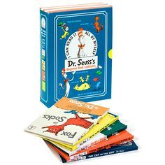 Dr. Seuss's Beginner Book Collection by Dr. Seuss at BabyEarth.com, $31.95