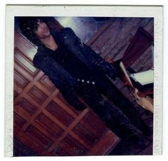 Incredibly rare Purple Rain filming era (1983) CANDID Polaroid photo of Prince! Note that you can see Prince in this exact outfit in the Purple Rain's Lake Minnetonka purification scene. I wonder if this was taken was at his house?