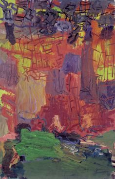 Per Kirkeby, Inferno V, 1992 | Oil on canvas, 78 3/4 x 51 1/4 in. The Phillips Collection, Washington, D.C. Gift of Gifford and Joann Phillips, 2009