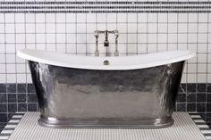 Polished cast iron bath- Crye.co.uk