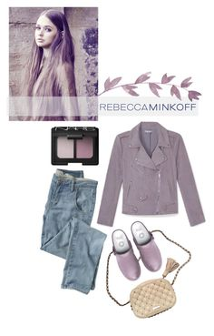 """""""Minkoff Mauve"""" by missbeaheyvin ❤ liked on Polyvore featuring moda, Rebecca Minkoff, Wrap, NARS Cosmetics, FitFlop, women's clothing, women, female, woman y misses"""