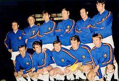 EQUIPOS DE FÚTBOL: SELECCIÓN DE BÉLGICA contra Inglaterra 25/02/1970