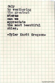 Typewriter Series #488by Tyler Knott Gregson