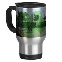 Lawn_Bowls_Competition,_Travel_Commuter_Coffee_Mug Stainless Steel Travel Mug
