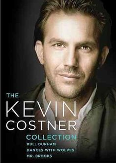 This set of three Kevin Costner movies includes his Oscar winning triumph DANCES WITH WOLVES, the thriller MR. BROOKS, and the baseball comedy BULL DURHAM.