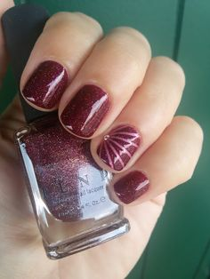 CHIKI88...  my passion for nails!: The nails of the week: stripes!