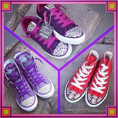 a751a64a7b859 163 Best Flower Girls images in 2019 | Bling shoes, Bling converse ...