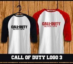 Raglan Call of Duty  t-shirt online,kaos,polo,raglan,distro,sablon,coreldraw,photoshop