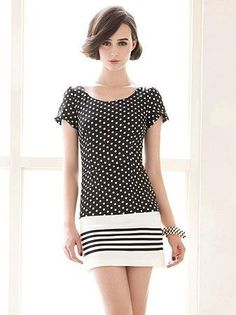 Chic Polka Dot Dress