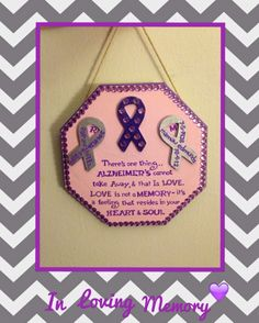 This is my Memory Alzheimers plaque that I made in memory of my boyfriend & i's grandparents  (M.T.E) #alzheimersawareness #Alzheimer's #savethememories #inmemoryof #diyalzheimersmemoryplaque #craftsbymorganMTE #ALZ #imissyoumamaw #handpainted