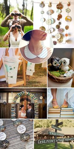 film: moonrise kingdom wedding day inspiration board on blog.tgkdesigns.com