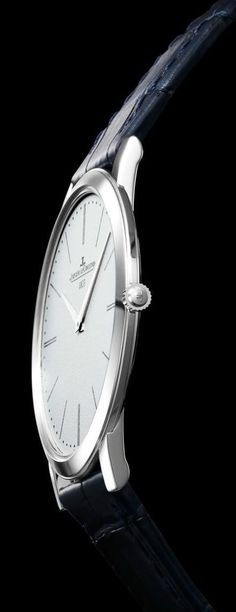jeager le coultre ultra thin white gold