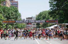 The Harlem One-Miler is a race for the bucket list! Running Magazine, Running Women, Bucket, Racing, The Unit, Running, Auto Racing, Buckets, Aquarius