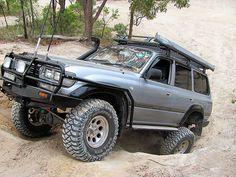 A very tidy 80 series Land Cruiser 80, Toyota Land Cruiser, Cool Trucks, Cool Cars, Toyota 4x4, 4x4 Off Road, Wheeling, Four Wheel Drive, Prado