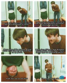 There there, it's okay Daniel Radcliffe