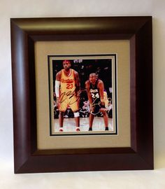 Custom framing at its best!