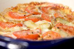 mozzarella cheese potatoes pinterest | Tomato, Potato, Mozzarella Bake | veggies