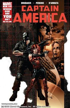 Captain America (2004-2011) #17 - Marvel Comics