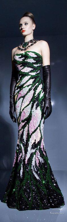 Nicolas Jebran - Haute Couture Spring - Summer 2013