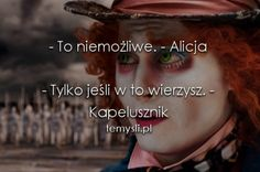 Pictures of Mia Wasikowska and Johnny Depp in Tim Burton's 'Alice in Wonderland. Peace And Love, Love You, Johnny Depp Movies, Wattpad, Some Quotes, My Character, Powerful Words, Alice In Wonderland, Lyrics