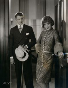 Ralph Forbes & Marion Davies, Tillie the Toiler, 1927 (costume by André-ani)