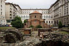 "The Church of St George (Ротонда ""Свети Георги"" or Rotonda ""Sveti Georgi"") is an Early Christian red brick rotunda that is considered the oldest building in Sofia, the capital of Bulgaria."