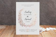 32 Rustic Wedding Invitations - KnotsVilla