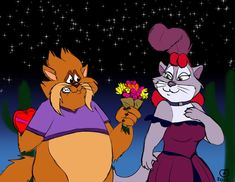 Tiger and Miss Kitty's Date by BenJJedi on DeviantArt