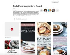 Join my new group board with daily food inspiration recipes. Want to contribute check the board for more information!