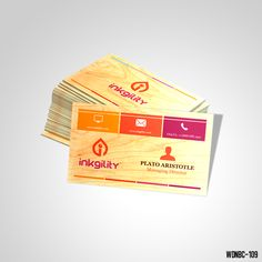 22 Best Wooden Business Cards Premium Collection Images