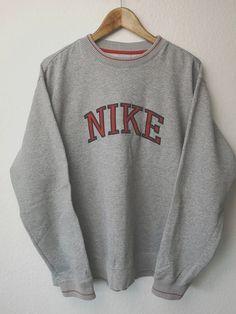 44efefe999 Up for sale is a pre owned vintage 90s Nike sweatshirt. (Please note ...