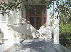 Hammock can make any place a relaxing retreat