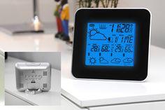 Prévisions météo, affichage de l'heure et de la date, fonction réveil : cette station météo 3 en 1 est un vrai produit malin.