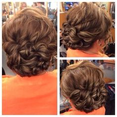mother of the bride hair updos for medium length hair Mother Of The Bride Updos, Mother Of The Groom Hairstyles, Mom Hairstyles, Older Women Hairstyles, Wedding Hairstyles, Updos For Medium Length Hair, Short Hair Updo, Medium Hair Styles, Curly Hair Styles
