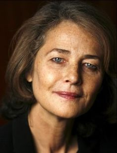 Charlotte Rampling  And STILL absolutely gorgeous.  Refuses to have plastic surgery. Yeah.