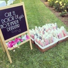 Regalos para los invitados a una boda