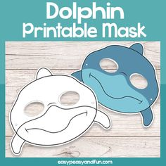 Printable Silly Animal Envelopes Bundled – Easy Peasy and Fun Membership Shark Mask, Fish Mask, Printable Masks, Printables, Firefighter Mask, Shark Week Crafts, Shark Puppet, Puppets For Kids, Mask Template