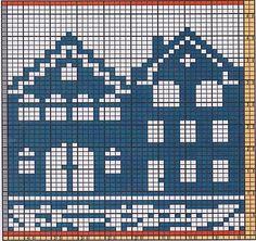 Ravelry: Potholder Houses pattern by Regina Schoenfeldt