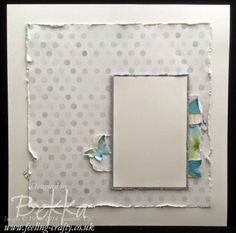 Happy Watercolor Scrapbook Start Point from Stampin' Up! UK Independent Demonstrator Bekka Prideaux. Check out her blog each Saturday for S...