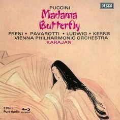 Puccini: Madama Butterfly - Pavarotti, Wiener Phil - 2 CDs + 1 Blu-ray Audio - Decca Classics