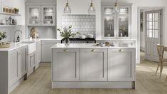 Shaker Kitchen, Kitchen Taps, Kitchen Units, Open Plan Kitchen, Kitchen Storage, Kitchen Cupboard, Kitchen Living, Kitchen Island, Living Room
