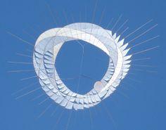 Anna Rubin's kite sculptures rock this world.